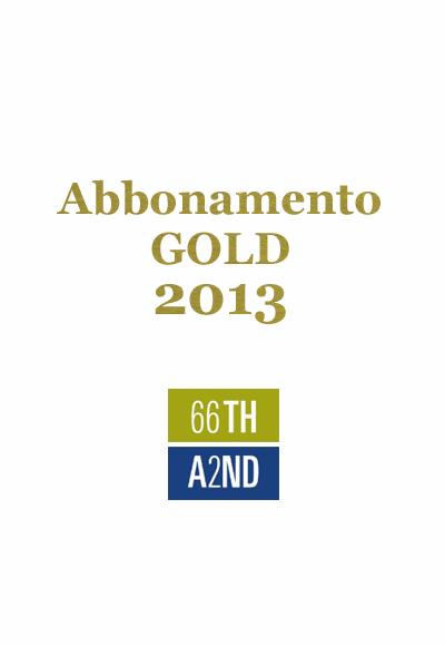 66thand2nd abbonamento gold 2013 - Abbonamento cose di casa ...